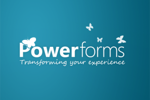 Powerforms concept logo
