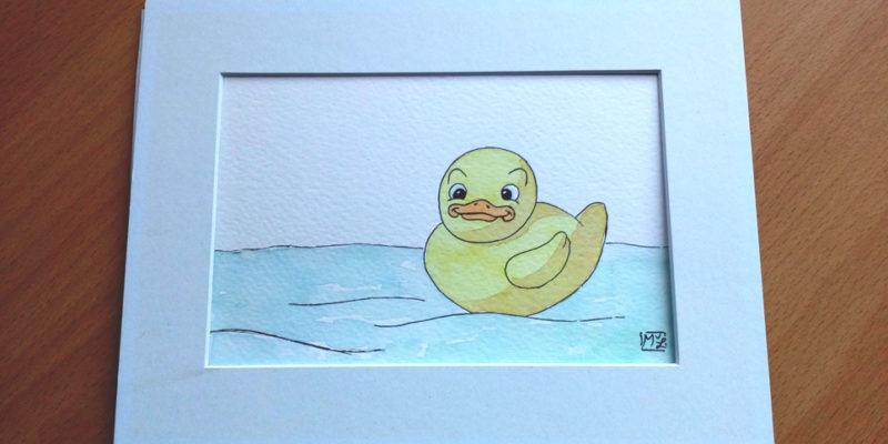 Rubber Ducky Illustration