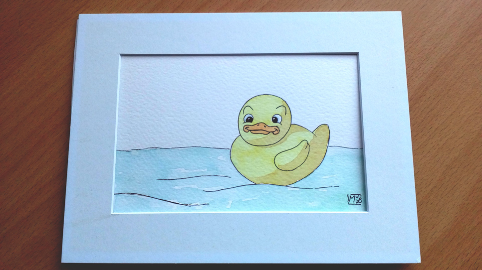 Rubber Ducky Illustration