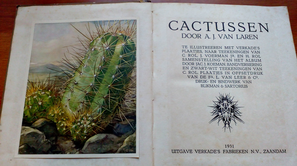 Verkade book cactussen