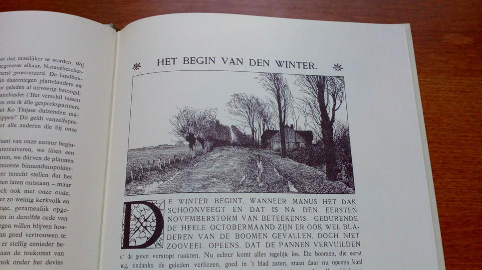 Verkade book engraving print