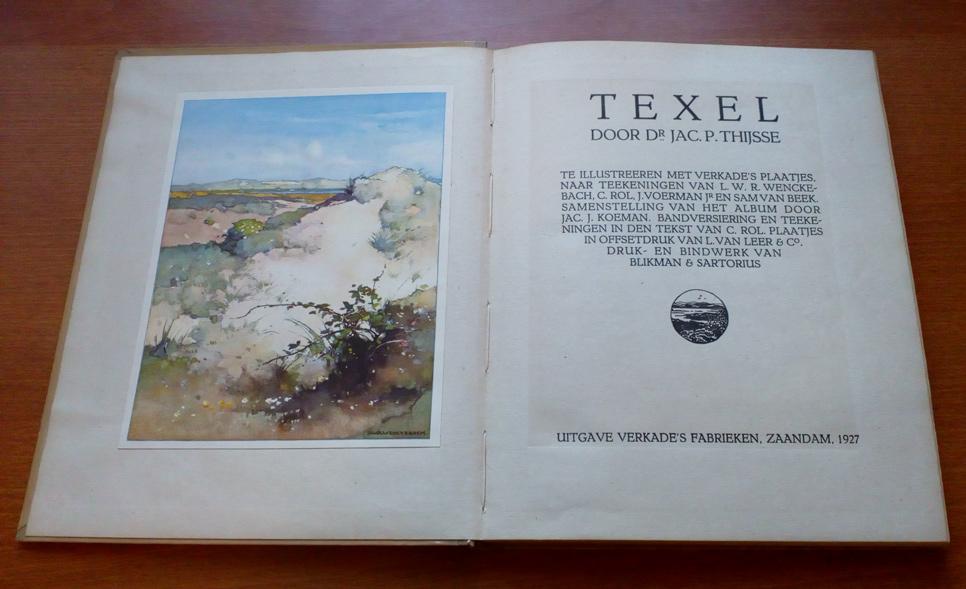 Verkade book Texel